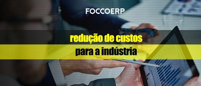 redução de custos para a indústria - baixe grátis