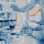 o que é bpms - imagem com ícones que representam processos, crescimento e gestão